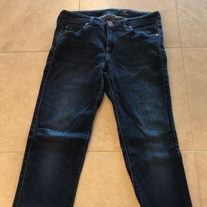 Women's AG Jeans size 26R color blue
